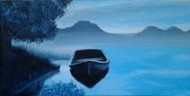 Beautifully Blue - Acrylics