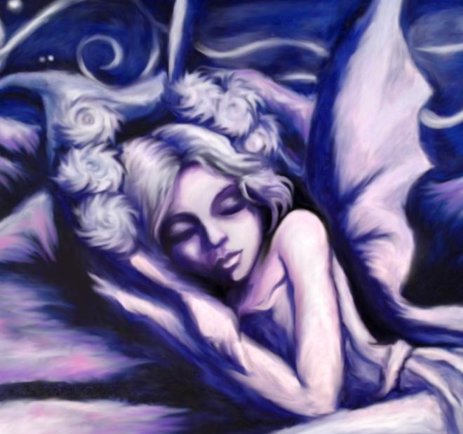 Blue Fairy Closer In