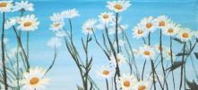 Daisies - Acrylics