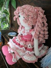 Pink Tilda Doll