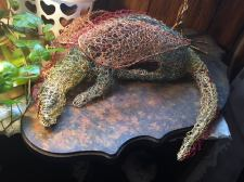Crochet Dragon Wire Sculpture