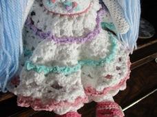 Blue Tilda Doll Skirt