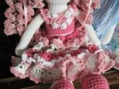 Pink Tilda Doll Dress