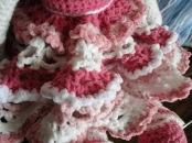 Pink Tilda Doll Skirt