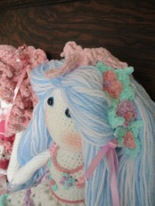 Blue Tilda Doll Headband