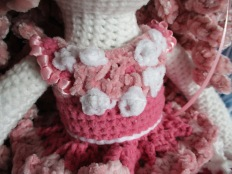 Pink Tilda Doll Bodice