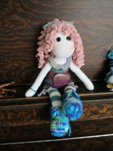 Tilda Doll Pink Hair
