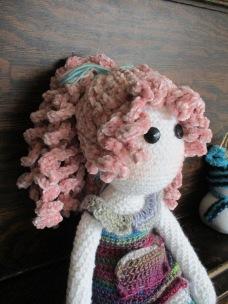 Tilda Doll Hair Face