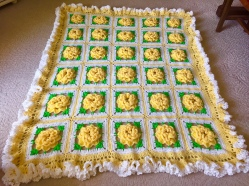 Yellow Rose of Texas Throw